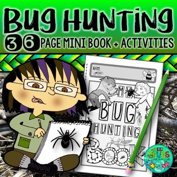 Insect & Bug Hunting! {Activities celebrating creepy crawlies}