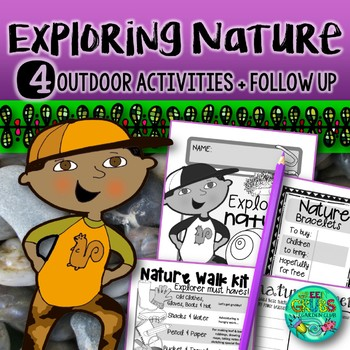 Nature Exploration {Outdoor activities celebrating the env