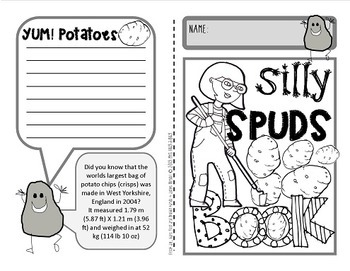 Potato Pack {Silly spuds garden activities and booklet}