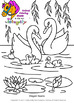 Garden Coloring Pages - Spring, Earth Day, Plants and Animals - Vol. 3