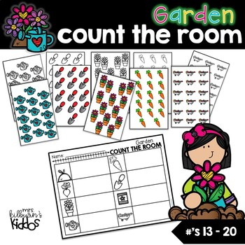 Garden Count the Room for Numbers 13-20