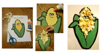 Garden and Fruit Crafts, Literacy and Math Centers