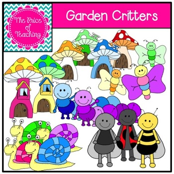 Garden Critters Clipart Set