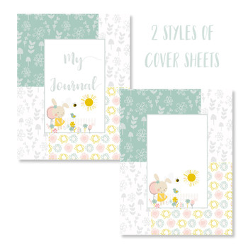 Garden Cuties Printable Journal Page Set