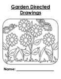 Garden Directed Drawing Booklet