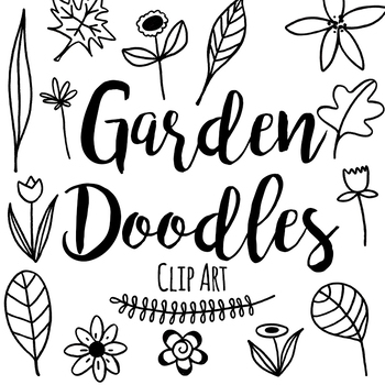 Garden Doodles By Affordable Clip Art