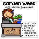 Distance Learning Garden Dramatic Play and Centers for Preschool and Pre-K