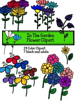 Garden Flower Clipart