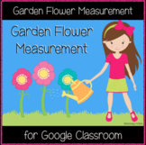 Garden Flower Measurement (Great for Google Classroom!)
