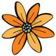 Garden Flowers Clip Art Set