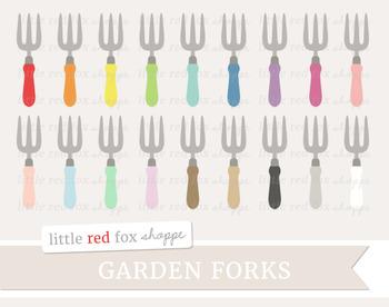 Garden Fork Clipart; Gardening