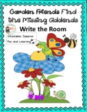 Garden Friends Find The Missing Addends Write the Room