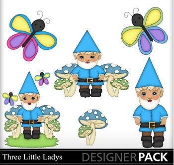 Garden Gnome Boy Blue
