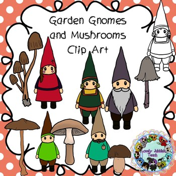Garden Gnomes and Mushrooms