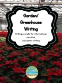Garden/Greenhouse Field Trip Writing