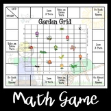 Garden Grid -- Coordinates on a Grid Game