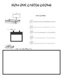 Garden Information Recording Sheet