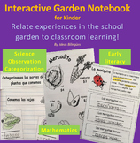 Garden Interactive Notebook for Kinder