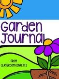 Garden Journal Distance Learning