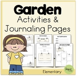 Garden Activities and Journaling Pages