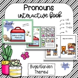 Garden Life Interactive Book: Pronouns