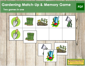 Garden Match-Up and Memory