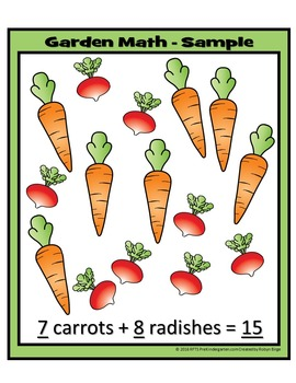 Garden Math Craftivity - U Build It!