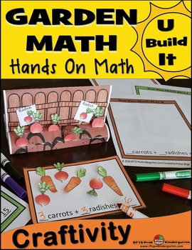 Garden Math Craftivity - U Build It!