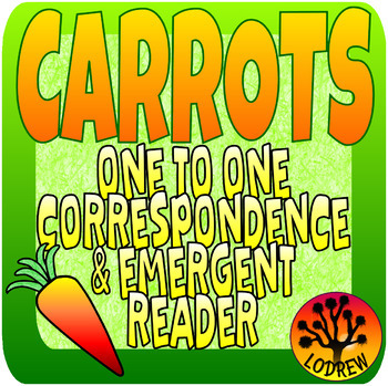 Carrot Centers Spring Activities Math Counting Emergent Reader Garden Centers