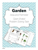Garden Math Task: Open Ended Problem Solving
