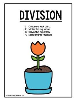 Garden Multiplication & Division