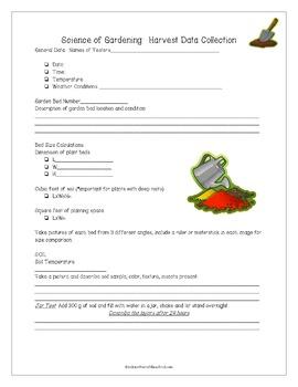 Garden Observation Lab for Middle School