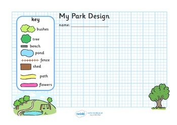 Garden & Park Design Sheets