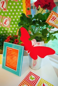 Classroom Decor Garden Party Butterfly Cut Outs