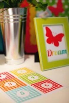 Classroom Decor Garden Party DREAM Print
