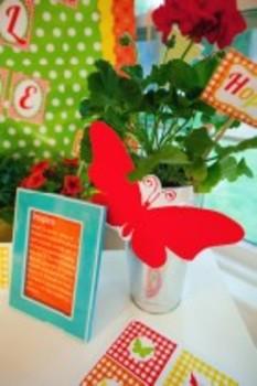 Classroom Decor Garden Party INSPIRE Print