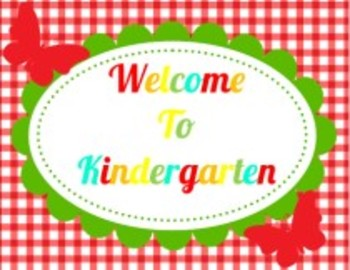 Classroom Decor Garden Party Welcome Sign