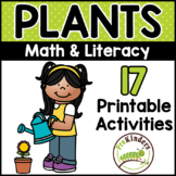Garden Plants Seeds Printable Math & Literacy Activities f