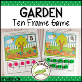 Garden Plants Ten Frame Game  (Pre-K + K Math)