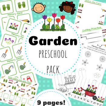 Garden Preschool Pack