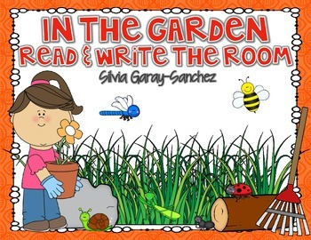 Garden Read and Write the Room Center