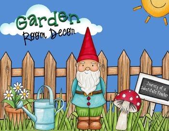 Garden Room Decor Pack