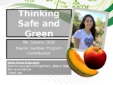 "Garden Safety PPT: ""Thinking Safe and Green"""