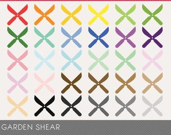 Garden Shear Digital Clipart, Garden Shear Graphics, Garden Shear PNG