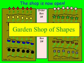 Garden Shop of Shapes