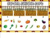 Garden Syllable Sort for Smart Board