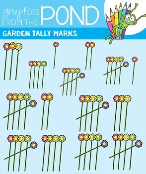 Garden Tally Marks Clipart