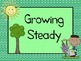 Garden Theme Behavior Clip Chart