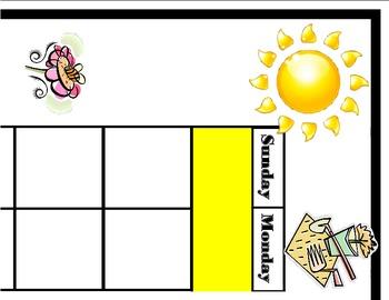 Garden Calendar! Garden Bulletin Board! Garden Classroom!