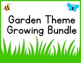 Garden Theme Classroom Decor Bundle {Word Wall- editable, Banner, & More!}